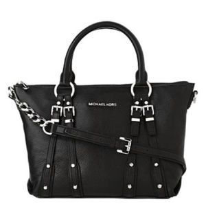 Michael Kors Leigh Satchel Shoulder Bag